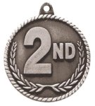 High Relief  Medal -2nd Place  Car/Automobile Trophy Awards