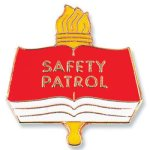 Safety Patrol Lapel Pin Chenille Lapel Pins