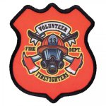 Customized 4 Point Shield Custom Patches