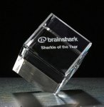 Cube Series Crystal Award Employee Awards