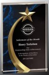 Shooting Star Square Acrylic  Marble Awards