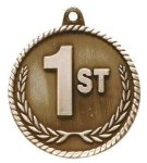 High Relief  Medal -1st Place  Military Trophy Awards