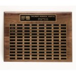 Walnut Perpetual Plaques Patriotic Awards