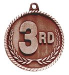 High Relief Medal -3rd Place  Water Polo Trophy Awards